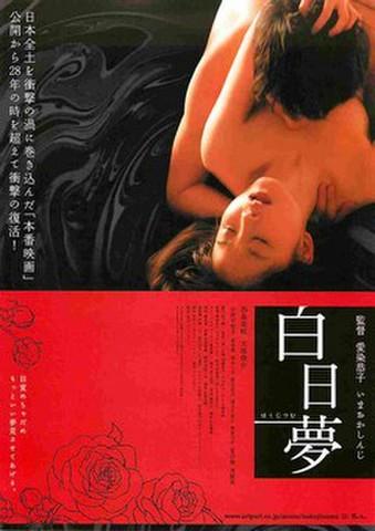 映画チラシ: 白日夢(西条美咲)