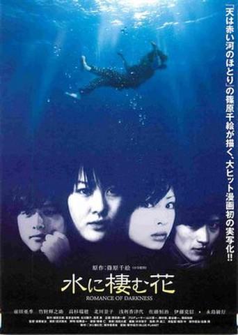 映画チラシ: 水に棲む花