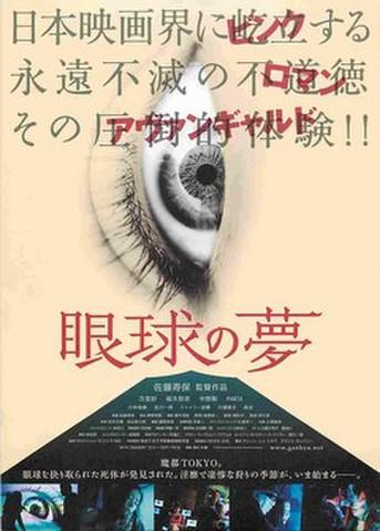 映画チラシ: 眼球の夢