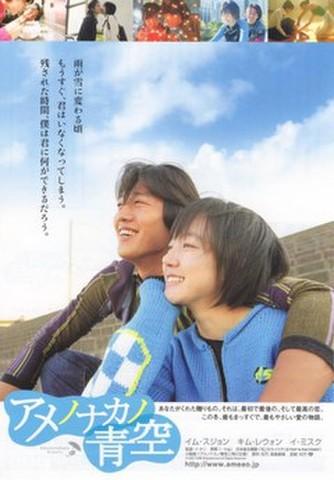 映画チラシ: アメノナカノ青空(小型・B6判ペラ)