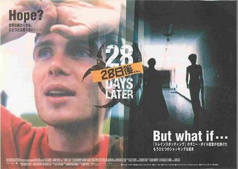 映画チラシ: 28日後...(ヨコ位置)