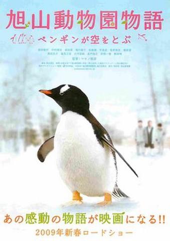 映画チラシ: 旭山動物園物語 ペンギンが空をとぶ(題字上)