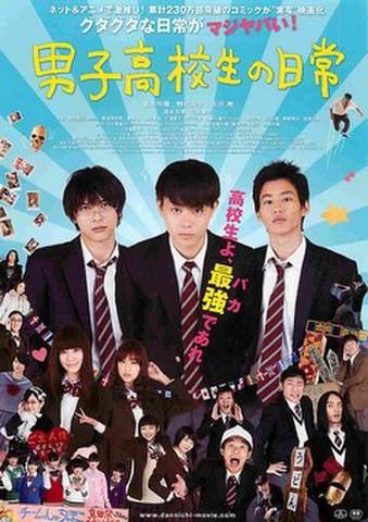 映画チラシ: 男子高校生の日常