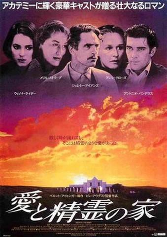 映画チラシ: 愛と精霊の家