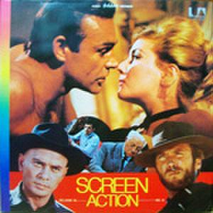 LPレコード752: SCREEN ACTION 007 ロシアより愛をこめて/女王陛下の007/シシリアン/夕陽のガンマン/荒野の用心棒/他