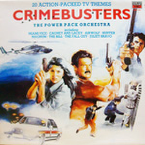 LPレコード441: 20 ACTION-PACKED TV THEMES  CRIMEBUSTERS(輸入盤)
