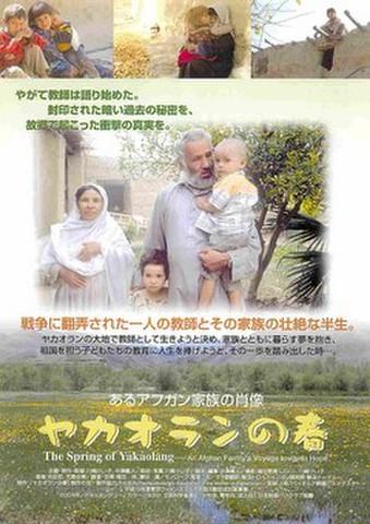 映画チラシ: ヤカオランの春 あるアフガン家族の肖像(裏面紫)
