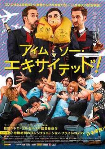 映画チラシ: アイム・ソー・エキサイテッド!