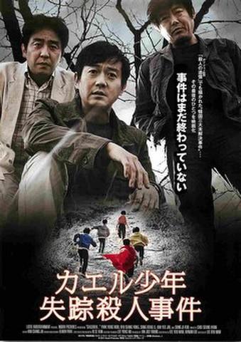 映画チラシ: カエル少年失踪殺人事件