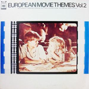 LPレコード737: EUROPEAN MOVIE THEMES Vol.2 鉄道員/刑事/道/撃遂王アフリカの星/ぼくの伯父さん/他