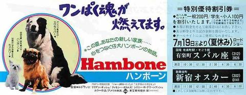 ハンボーン(割引券)