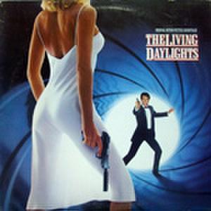 LPレコード732: 007 リビング・デイライツ(輸入盤・ジャケットハゲ・シール痕あり)