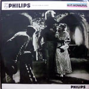 LPレコード177:思い出の欧州映画主題曲 嘆きの天使/会議は踊る/狂乱のモンテカルロ/夜のタンゴ/パリの屋根の下/他(ジャケット穴シミあり)