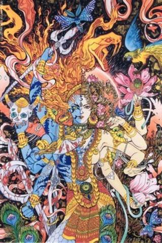 映画チラシ: アシュラ(インド)(小型)
