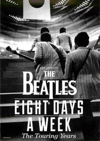 映画チラシ: THE BEATLES EIGHT DAYS A WEEK