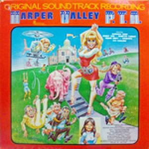 LPレコード233: Harper Valley P.T.A.(ジャケット角折れパンチ穴あり・輸入盤)