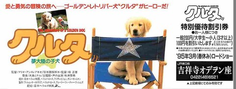 クルタ 夢大陸の子犬(割引券)