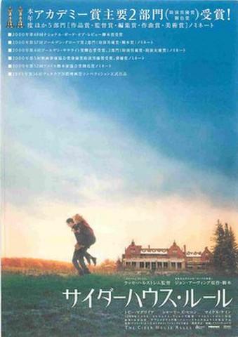 映画チラシ: サイダーハウス・ルール(アカデミー賞主要2部門受賞)