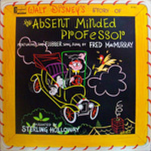 LPレコード556: うっかり博士の大発明 フラバァ(輸入盤)