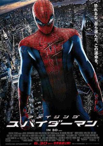 映画チラシ: アメイジング・スパイダーマン(恐れるな~、3D先行上映コピーなし)