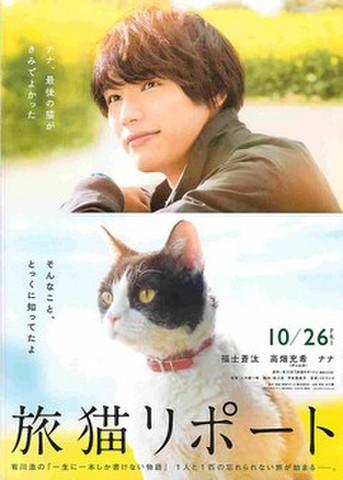 映画チラシ: 旅猫リポート(題字下)