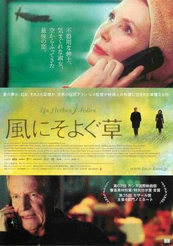 映画チラシ: 風にそよぐ草