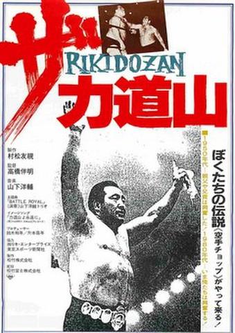 映画チラシ: ザ・力道山