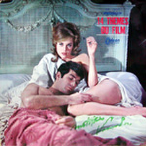 LPレコード155: 14 THEMES DU FILM 夜霧のしのび逢い/007 ゴールドフィンガー/007は殺しの番号/黄金の男/他(ジャケットサイン書込あり)