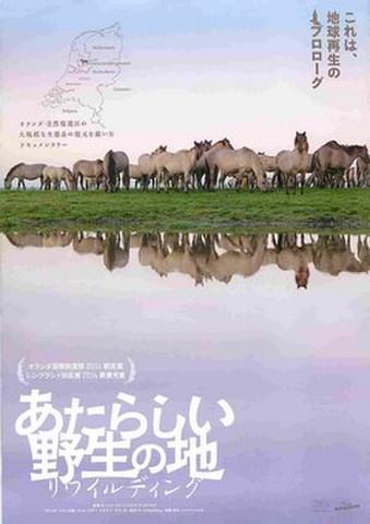 映画チラシ: 新しい野生の地 リワイルディング