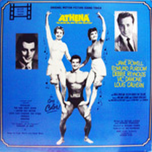 LPレコード578: ATHENA THE NATURE GIRL WITH THE BODY BEAUTIFUL!(輸入盤・ジャケット角折れあり)
