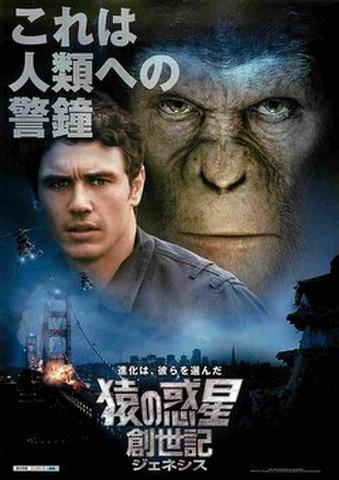 映画チラシ: 猿の惑星:創世記(これは人類への警鐘)
