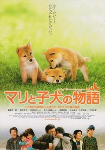 映画チラシ: マリと子犬の物語(2枚折)