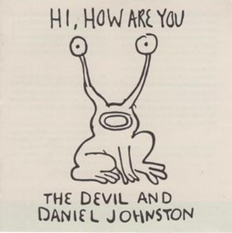 映画チラシ: 悪魔とダニエル・ジョンストン(小型・冊子)