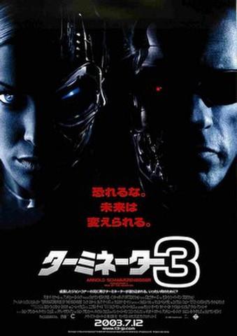 映画チラシ: ターミネーター3(2人)
