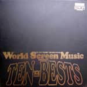 LPレコード087: World Screen Music TEN BESTS 明日に向って撃て!/雨の訪問者/いちご白書/エデンの東/他