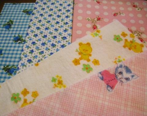 vintage fabric set-4