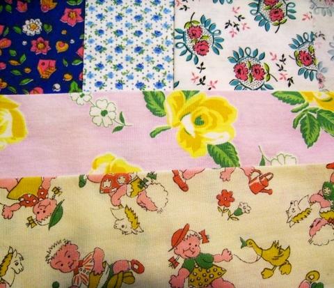 vintage fabric set-1