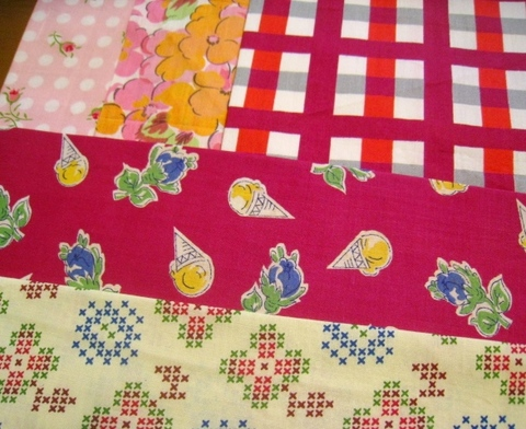 vintage fabric set-2