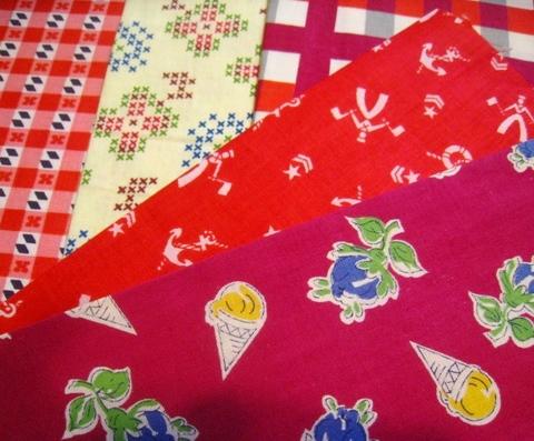 vintage fabric set-7