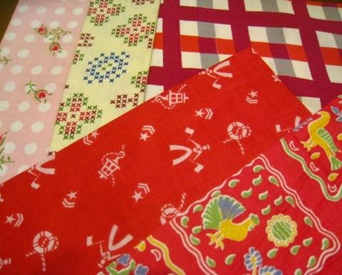vintage fabric set-3