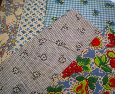 vintage fabric set-6