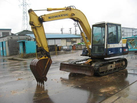 Used Excavator Komatsu PC60-6