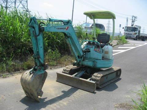 Used mini excavator Yanmar VIO20