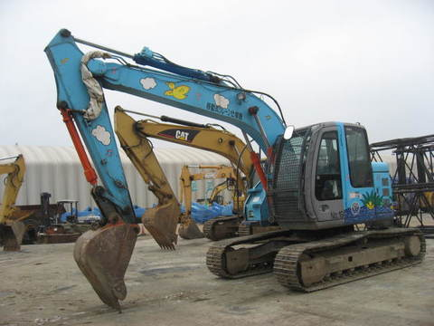Used Excavator HITACHI  ZX135US
