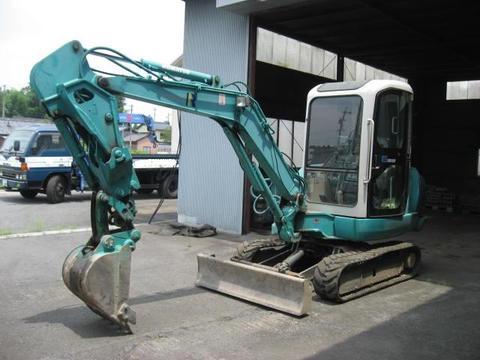 Used mini excavator KOMATSU PC35R-8