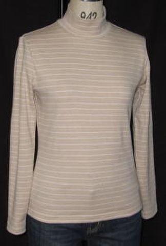 OCT-40オーガニックハイネックTシャツ