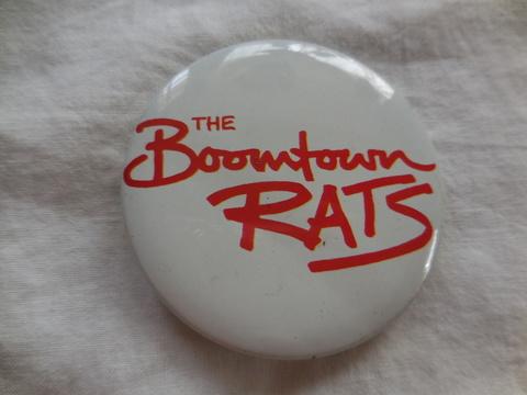 80'sデカバッジBoomtownRatsロゴ
