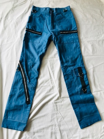 used zip trousers