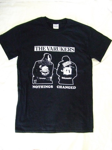 Tシャツ/varukers/nothing
