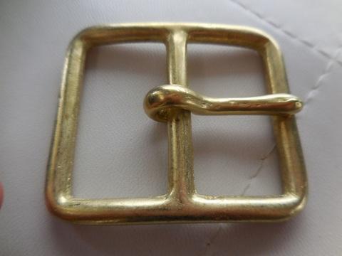 真鍮バックルforスエーデンポーチ
